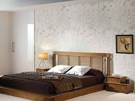 mod le tete de lit en bambou. Black Bedroom Furniture Sets. Home Design Ideas