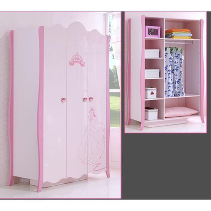 exemple armoire chambre fille pas cher