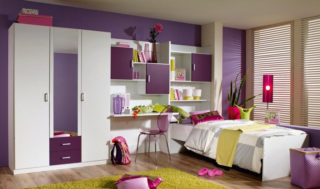 Meuble pour chambre enfant chambre de enfant avec un - Meuble de rangement pour chambre de fille ...
