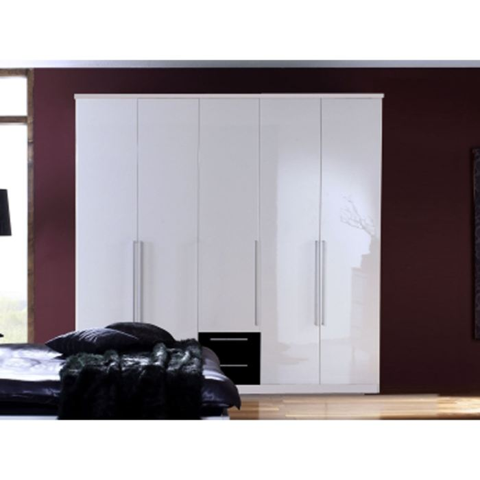 Armoire chambre moderne for Armoire chambre bois moderne