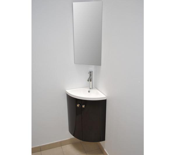 Armoire salle de bain carrefour - Armoire angle salle de bain ...