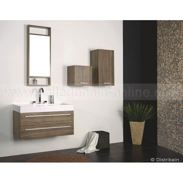 Armoire salle de bain taupe for Salle de bain en ligne