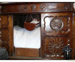 banc de lit clos