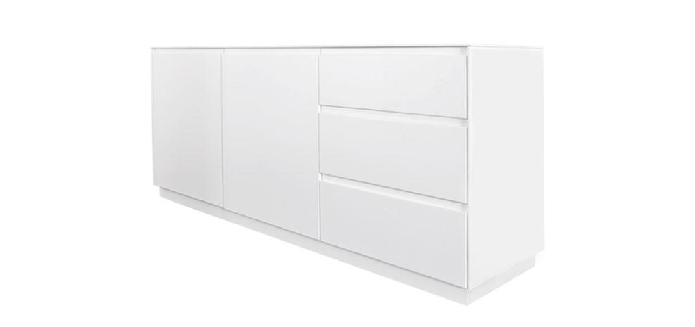 id e buffet bas blanc. Black Bedroom Furniture Sets. Home Design Ideas