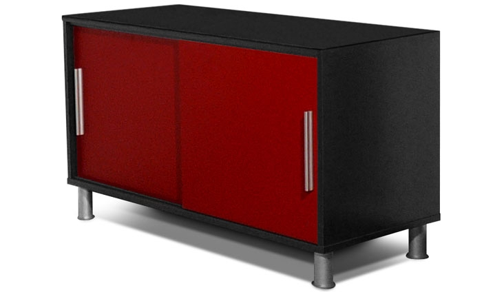 visuel buffet bas rouge pas cher. Black Bedroom Furniture Sets. Home Design Ideas