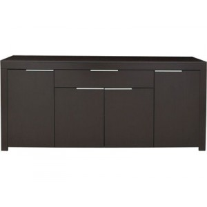 buffet bas wenge noir. Black Bedroom Furniture Sets. Home Design Ideas