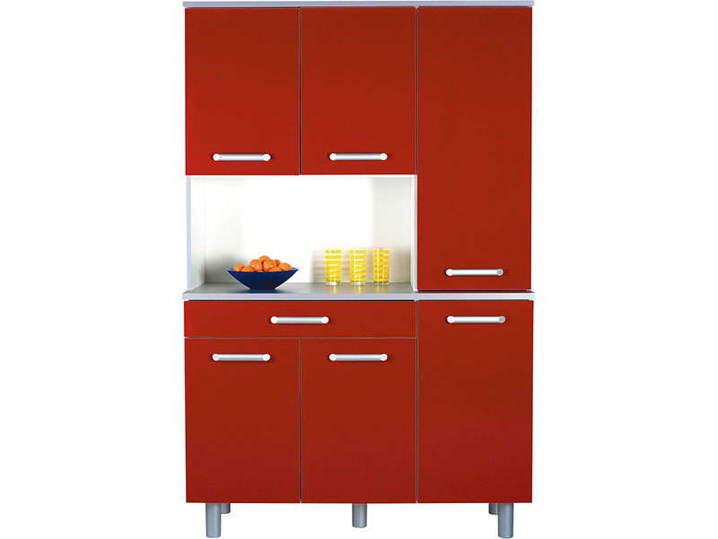 meuble cuisine conforama rouge table de lit
