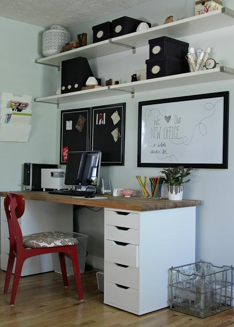 Caisson de bureau chez conforama for Caisson mural bureau
