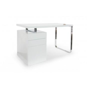 Caisson de bureau laque blanc - Caisson bureau blanc laque ...