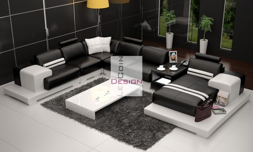 canape d 39 angle italien pas cher. Black Bedroom Furniture Sets. Home Design Ideas
