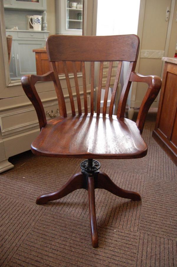 pas cher pour réduction 015cb 162c6 chaise de bureau en bois ancienne