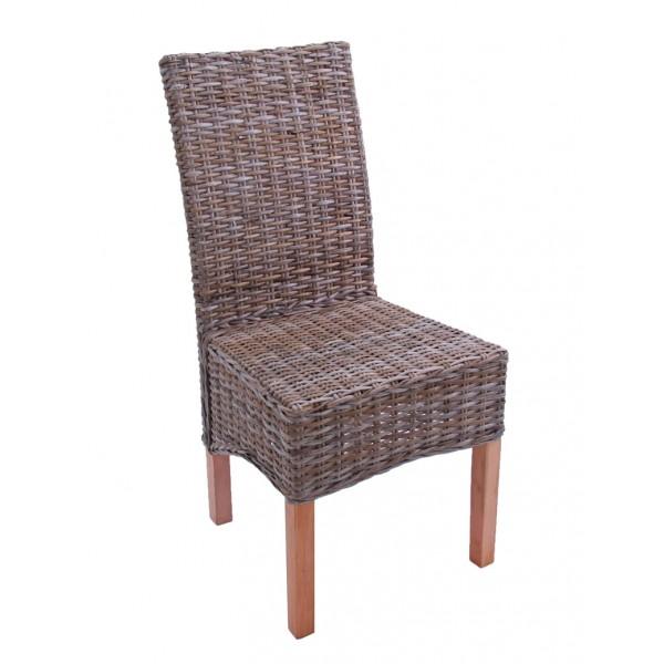 Chaise cuisine rotin avec des id es for Chaise blanche en rotin