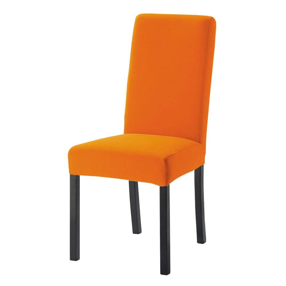 Chaise cuisine orange pr l vement d for Modele de chaises design