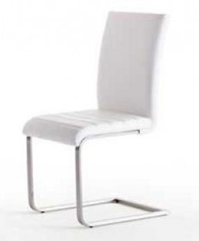 But chaise blanche cuisine for Chaise cuisine blanche