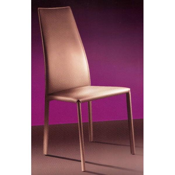 Chaise de salle a manger en cuir blanc for Chaise salle a manger simili cuir blanc