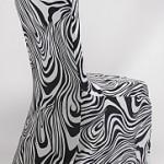 housse chaise zebre