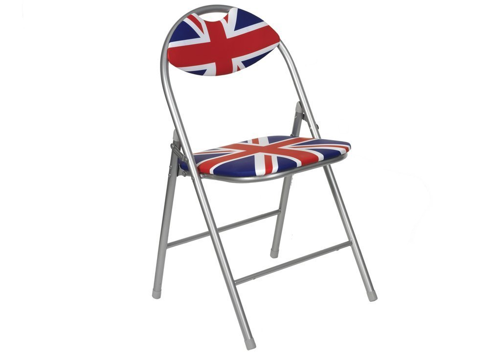Chaise de bureau union jack - Bureau drapeau anglais ...