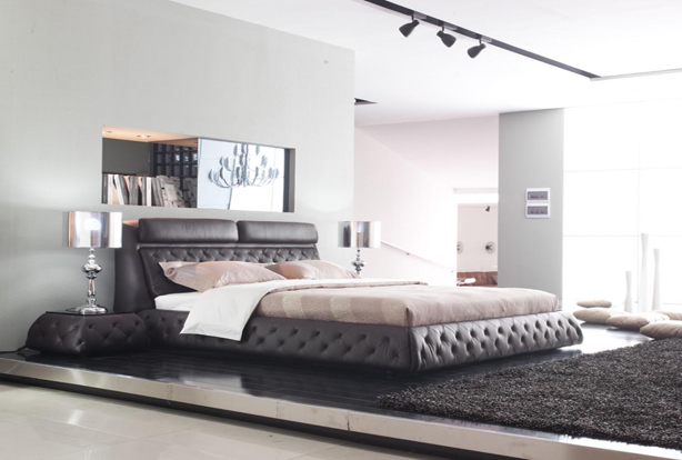 lit deux places design maison design. Black Bedroom Furniture Sets. Home Design Ideas
