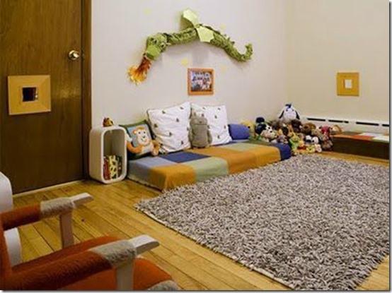 Lit bebe montessori for Lit montessori