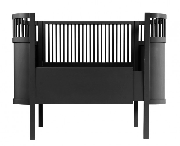 trouver lit bebe noir. Black Bedroom Furniture Sets. Home Design Ideas