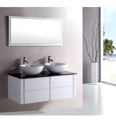Trouver meuble bas salle de bain avec vasque a poser for Meuble bas salle de bain sans vasque