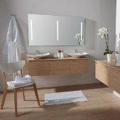 Visuel meuble bas salle de bain avec vasque a poser - Meuble salle de bain vasque a poser ...