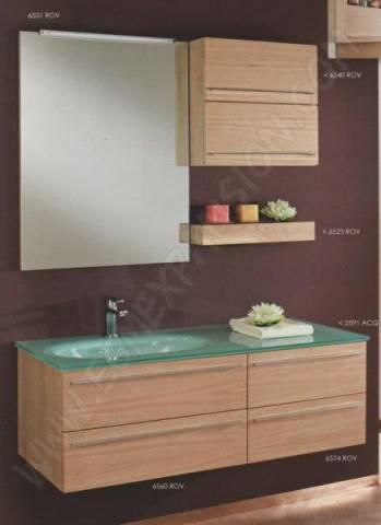 Meuble bas salle de bain avec vasque a poser for Meuble salle de bain avec vasque a poser