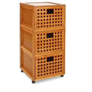 Mod le meuble bas salle de bain bambou for Meubles bambou salle de bain
