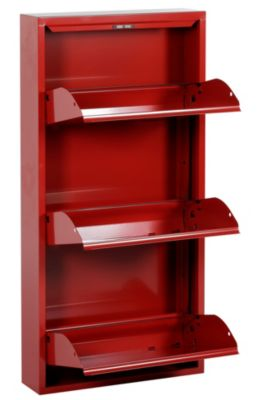 Meuble chaussures rouge en ligne - Meuble a chaussure rouge ...