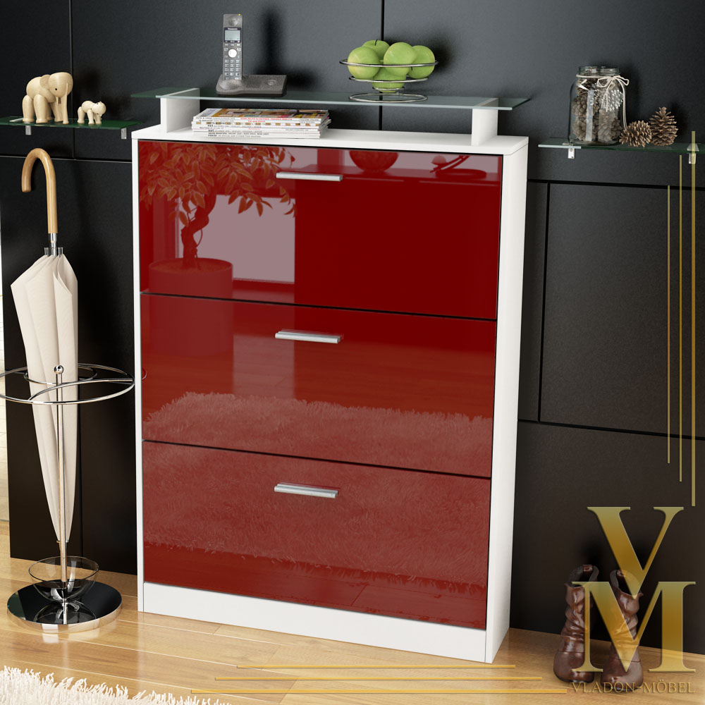meuble chaussure rouge ikea. Black Bedroom Furniture Sets. Home Design Ideas