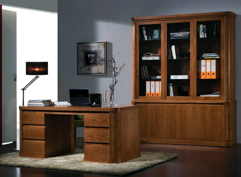 mod le meuble de bureau sur mesure. Black Bedroom Furniture Sets. Home Design Ideas