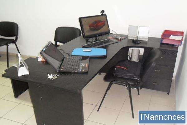 Exemple meuble de bureau tunisie prix