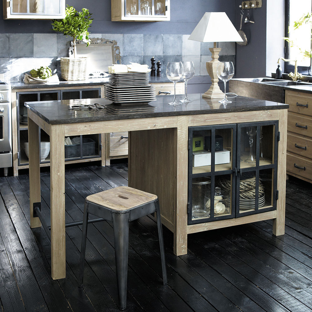 organisation meuble de cuisine maison du monde. Black Bedroom Furniture Sets. Home Design Ideas