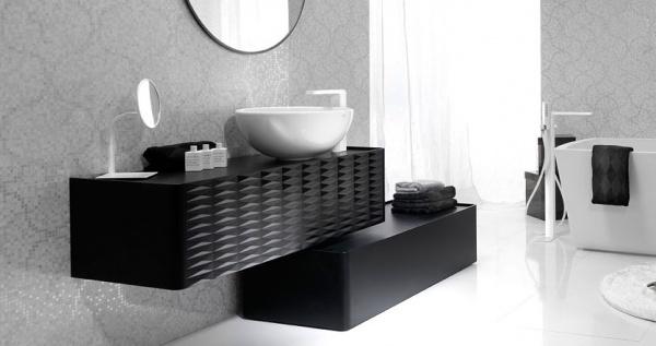 trouver meuble de salle de bain contemporain haut de gamme
