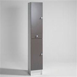 Meuble haut de salle de bain 2 portes a suspendre grimsby for Meuble bas de salle de bain 2 portes grimsby