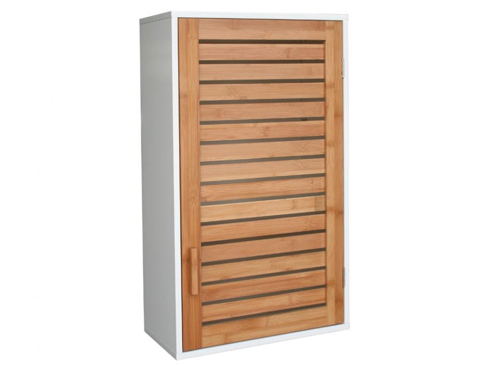 Meuble haut salle de bain bambou for Meuble haut salle de bain bambou