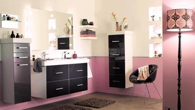 Meuble salle de bain hygena for Meuble salle de bain en ligne