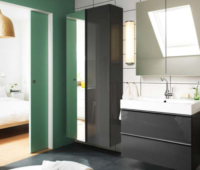 Armoire salle de bain ikea photos pictures to pin on pinterest - Ikea meubles de salle de bain ...