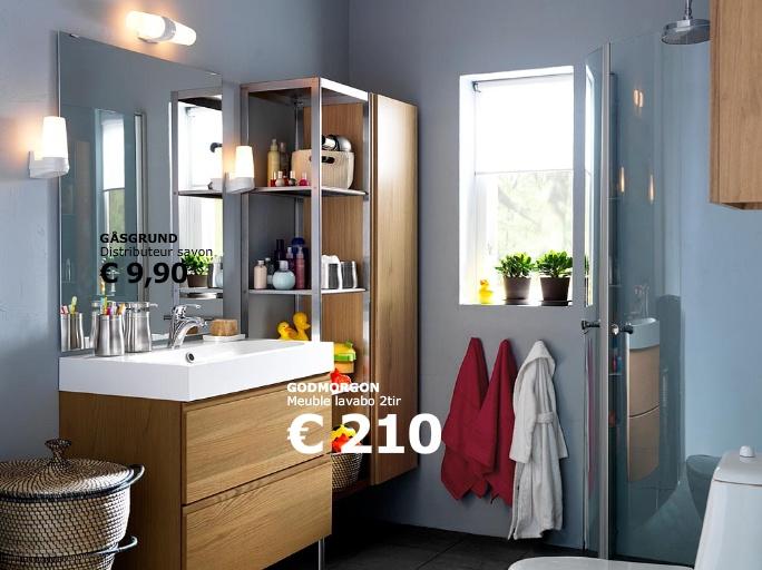 meuble salle de bain ikea godmorgon. Black Bedroom Furniture Sets. Home Design Ideas