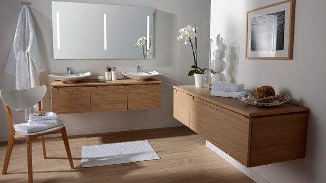 Les concepteurs artistiques meubles salle de bain for Meuble salle de bain suspendu pas cher