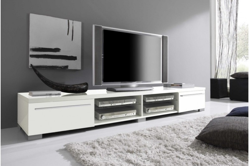 meuble tv bas design. Black Bedroom Furniture Sets. Home Design Ideas