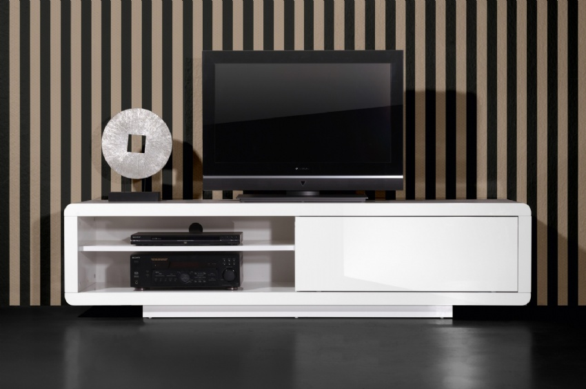 Comparatif meuble tv bas design for Meuble salon bas design