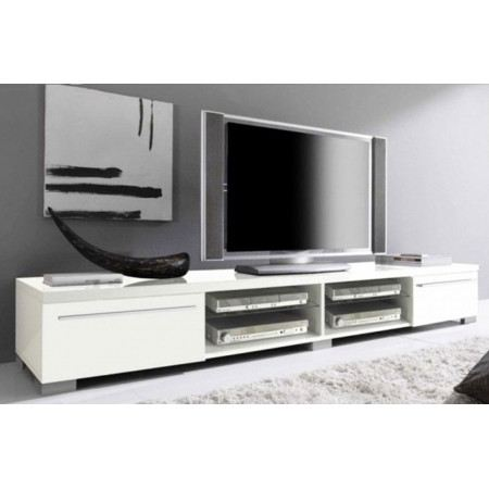 meuble bas tv 2 m de long. Black Bedroom Furniture Sets. Home Design Ideas