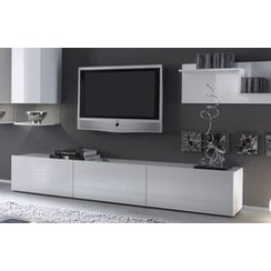meuble tv bas long. Black Bedroom Furniture Sets. Home Design Ideas