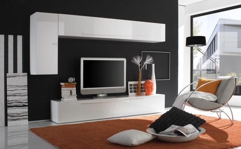 Meuble Tv Assez Haut : Photo Meuble Tv Haut Moderne