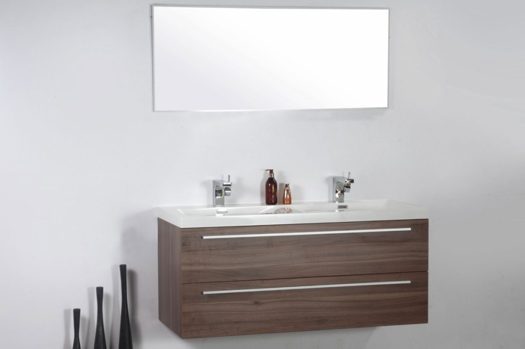 Meuble vasque miroir salle de bain for Ou trouver des meubles de salle de bain