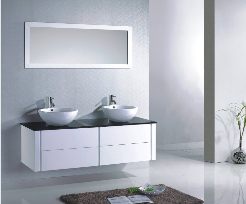 meuble vasque miroir salle de bain. Black Bedroom Furniture Sets. Home Design Ideas