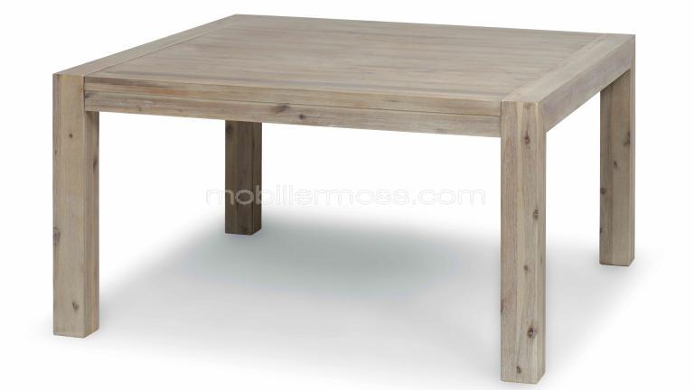 Table a manger carree - Table carree extensible bois ...