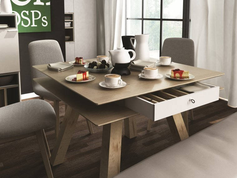 table a manger carree. Black Bedroom Furniture Sets. Home Design Ideas