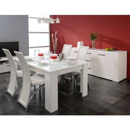 table a manger design pas cher. Black Bedroom Furniture Sets. Home Design Ideas